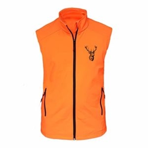 Benisport color naranja Chaleco fosforito basic line talla xxxl