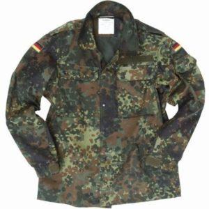 BW Blusa de campo al TL camuflaje