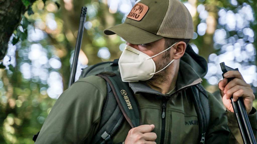 chewing mask hunting and fishing